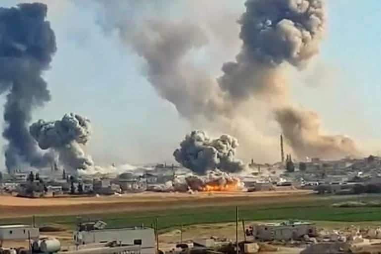 attacco siria