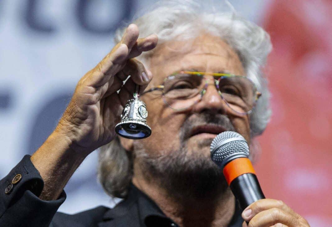 Beppe Grillo, M5S