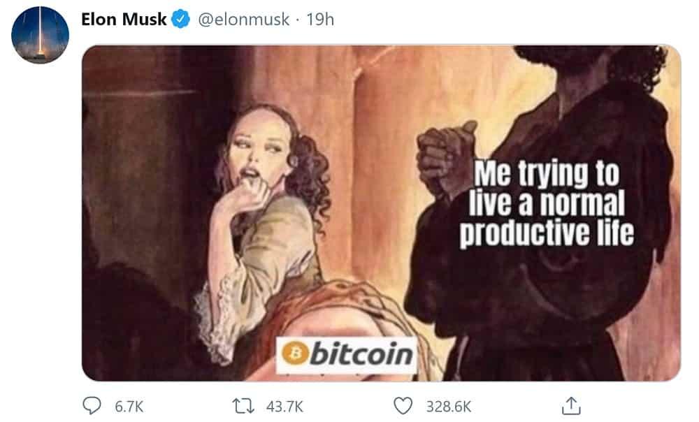 Bitcoin Criptovaluta Tesla Elon Musk