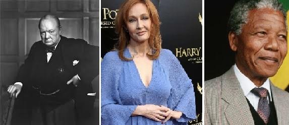 Churchill Jk Rowling Mandela