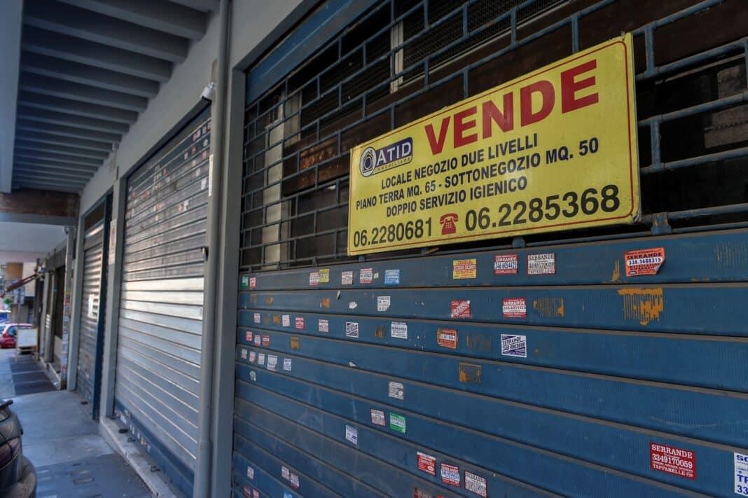 confesercenti negozi crisi