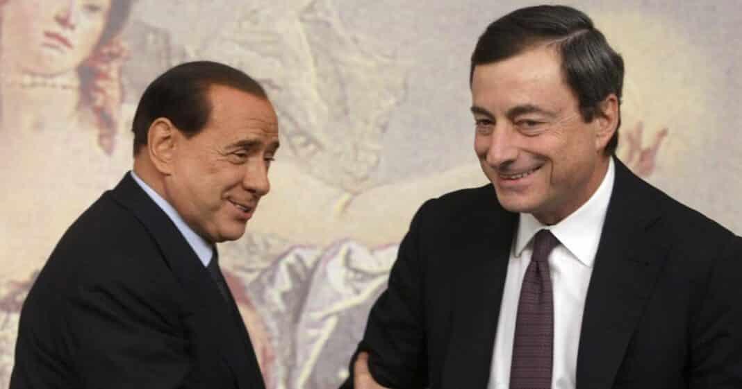 Draghi, Berlusconi