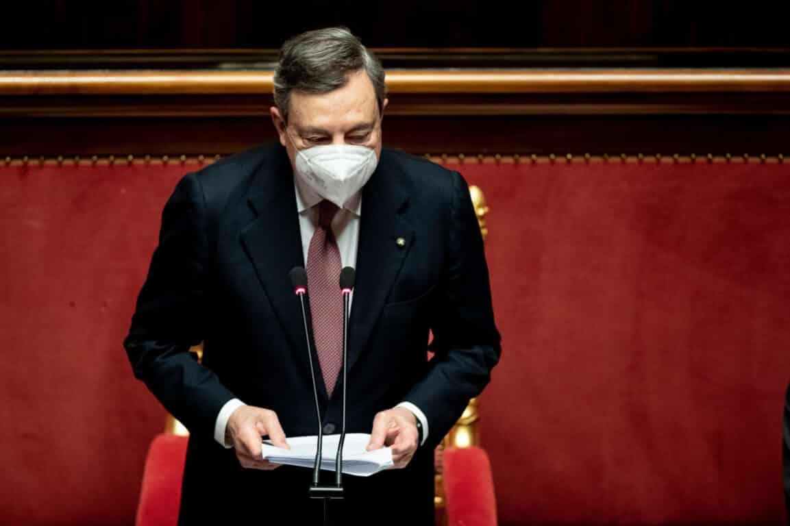 Governo: Draghi debutta in Parlamento, ecco l'intervento in Senato/Adnkronos