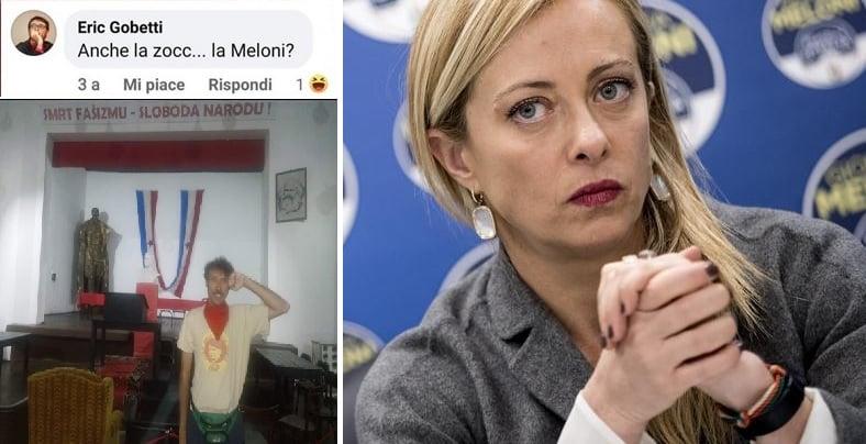 Gobetti foibe Meloni
