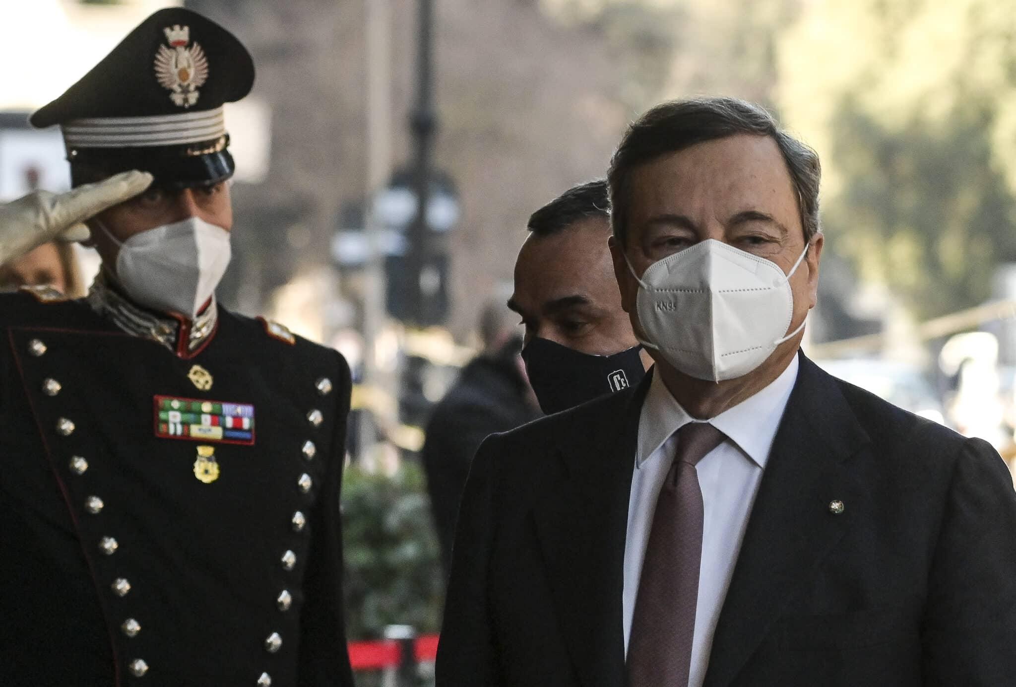 Il governo Draghi non convince gli italiani: al 44,1% non piace la squadra dei ministri