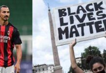 Ibrahimovic Black Lives Matter
