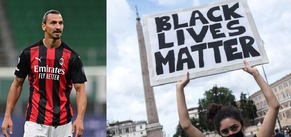 Ibrahimovic Black Lives Matter