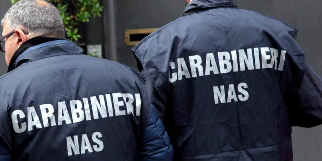Nas, carabinieri