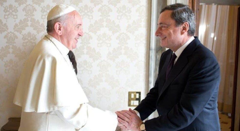 Draghi, Papa Francesco