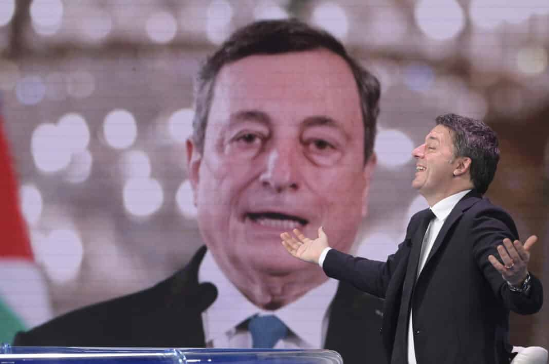 Renzi, Draghi