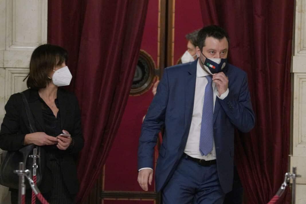 Salvini, Berlusconi