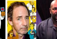 Simpson, Shearer doppiatore Dottor Hibbert