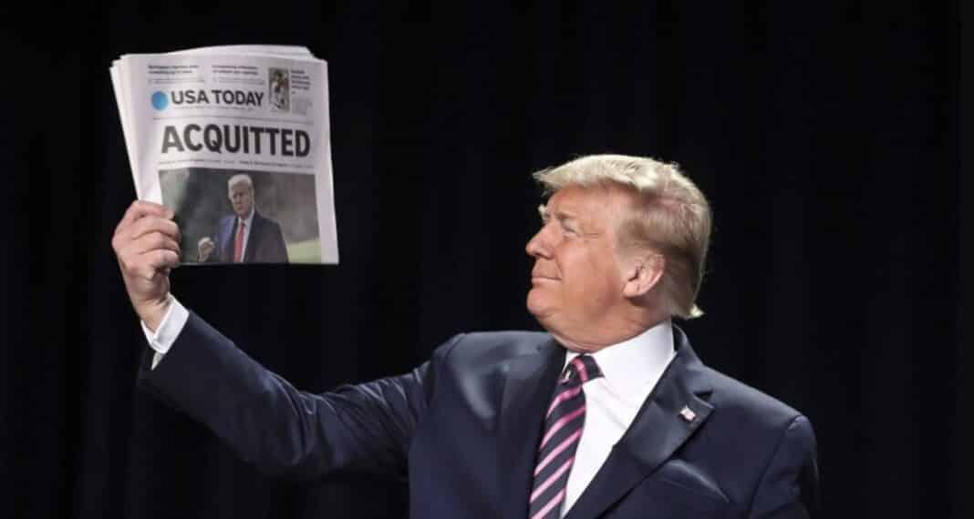 Trump, assolto