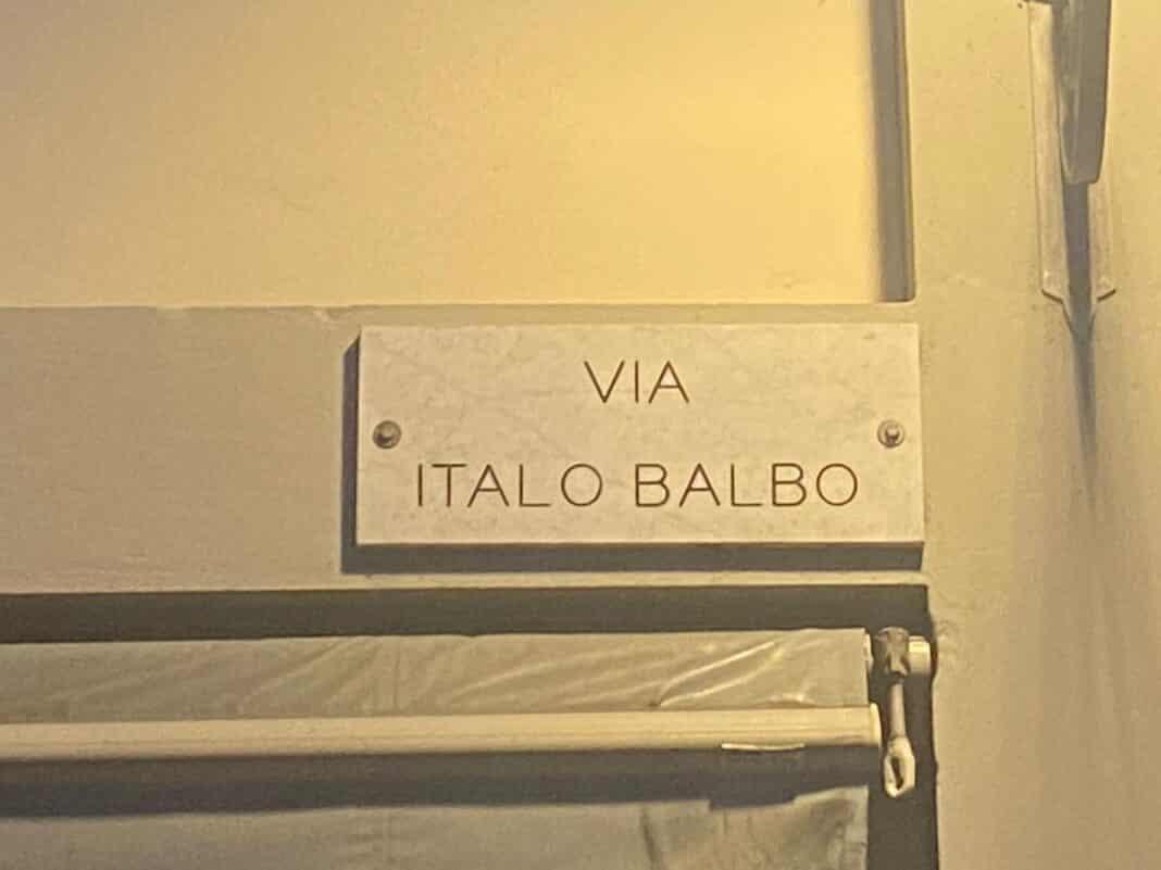 Italo Balbo, Trento