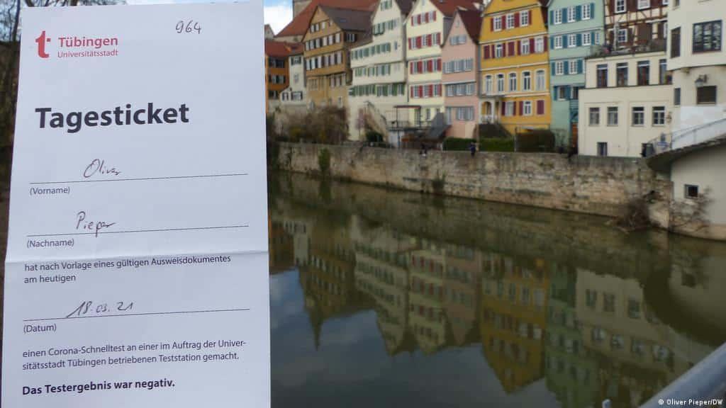 tubinga città tedesca
