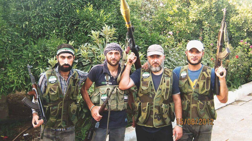 ribelli, siria
