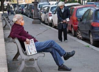 botte anziani mascherina