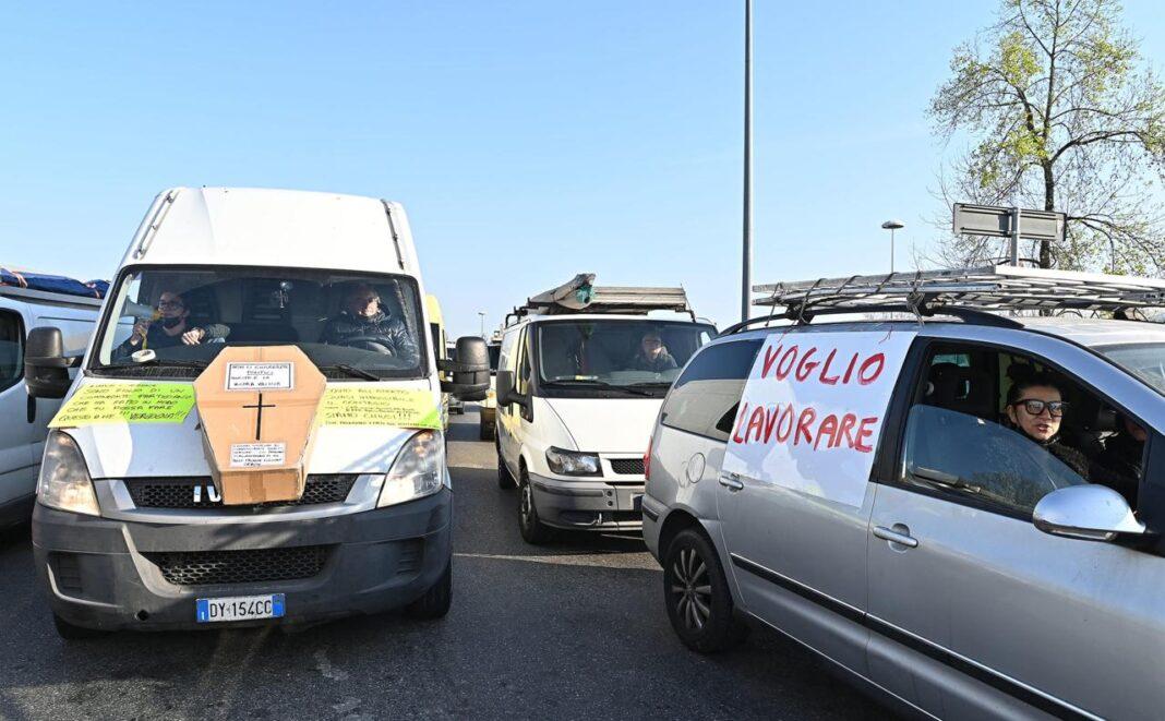 Torino, ambulanti