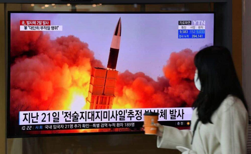 corea del nord, lancio missili