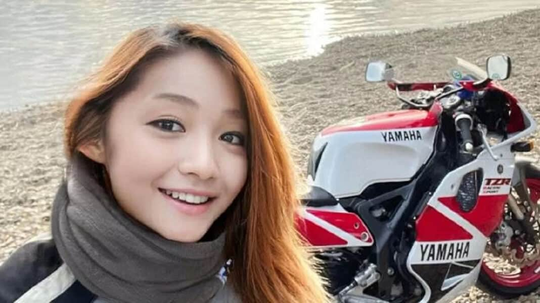 Motociclista giapponese