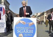 sgarbi roma centrodestra