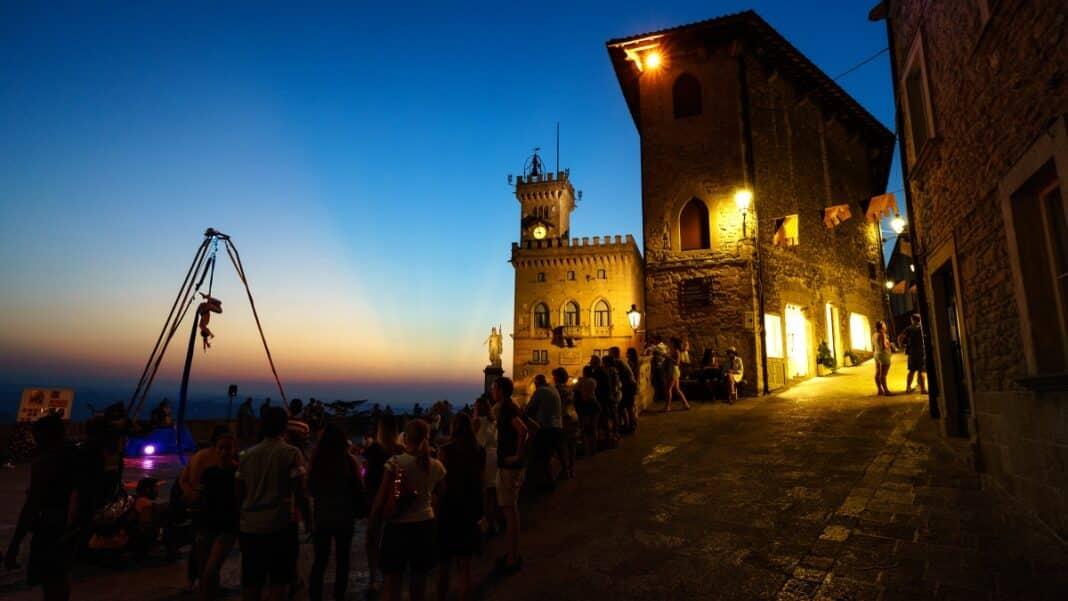 San Marino coprifuoco