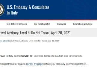 ambasciata americana, italia