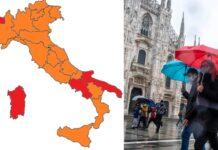 Italia regioni arancione