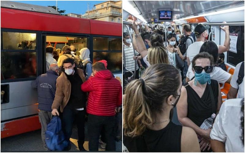 virus bus e mezzi pubblici