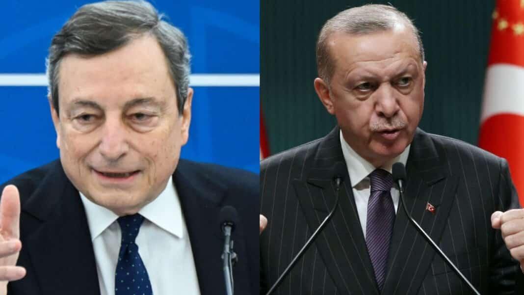 Draghi, Erdogan