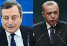 Draghi, Erdogan
