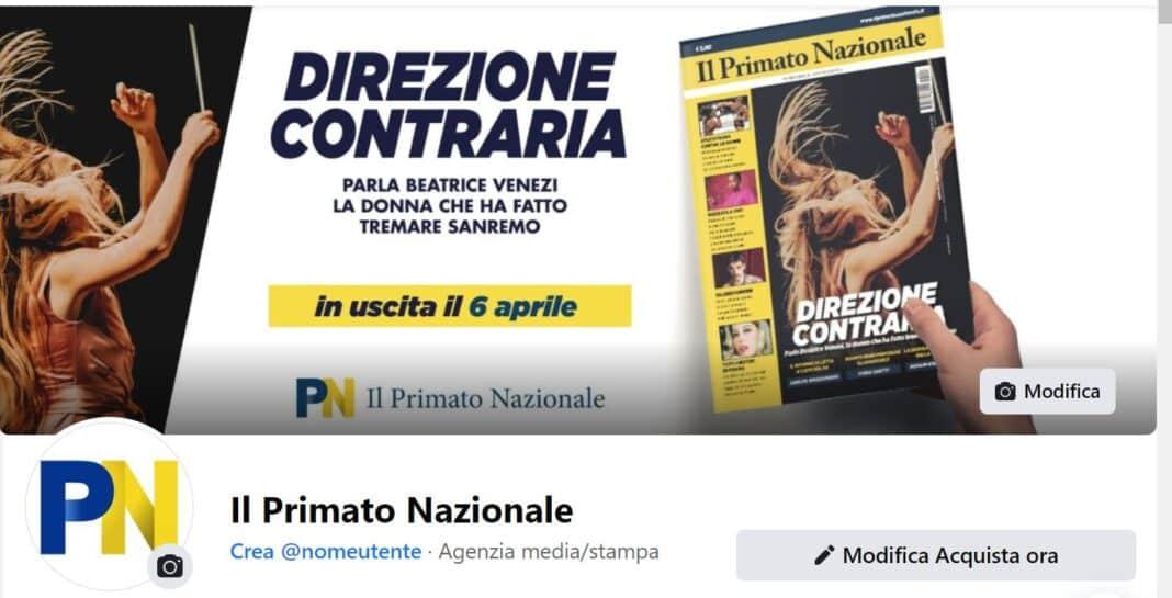 Il Primato, Facebook
