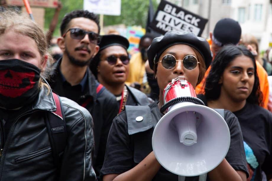 Black lives matter Londra