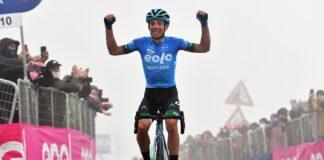 Giro d'Italia Fortunato, trionfo