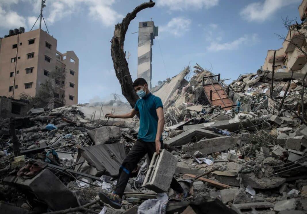 Gaza, strage
