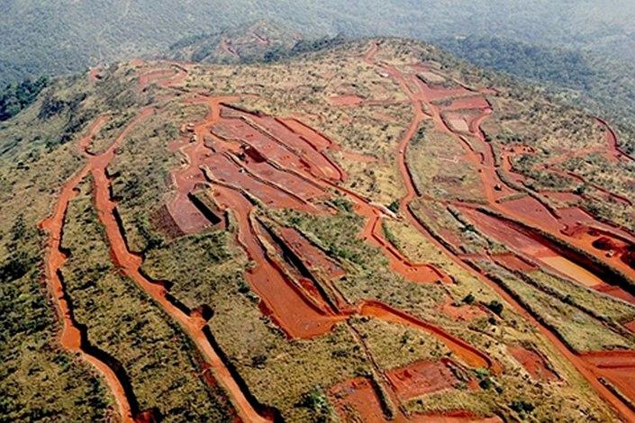 guinea minerale ferro