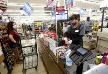 supermercato mascherina
