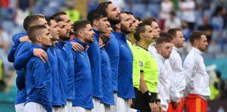nazionale italiana, in piedi