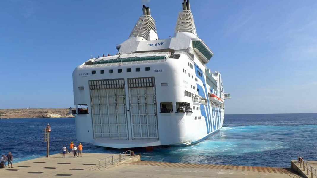 nave quarantena, lampedusa