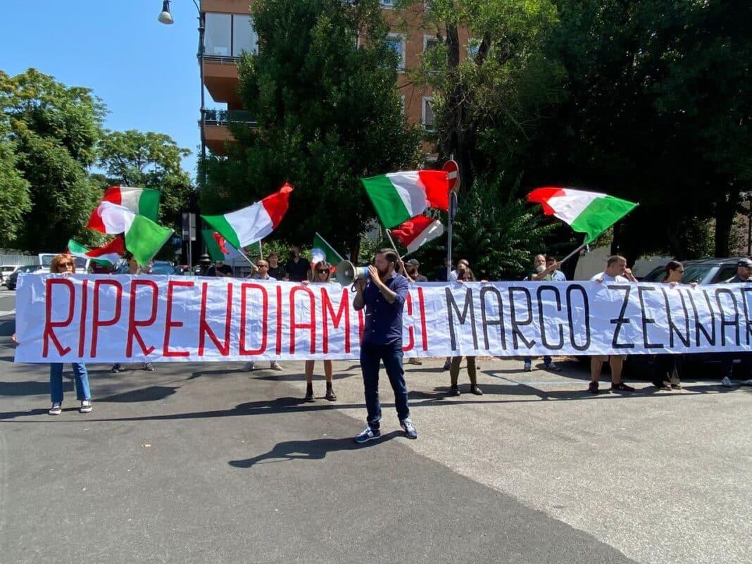 zennaro, protesta