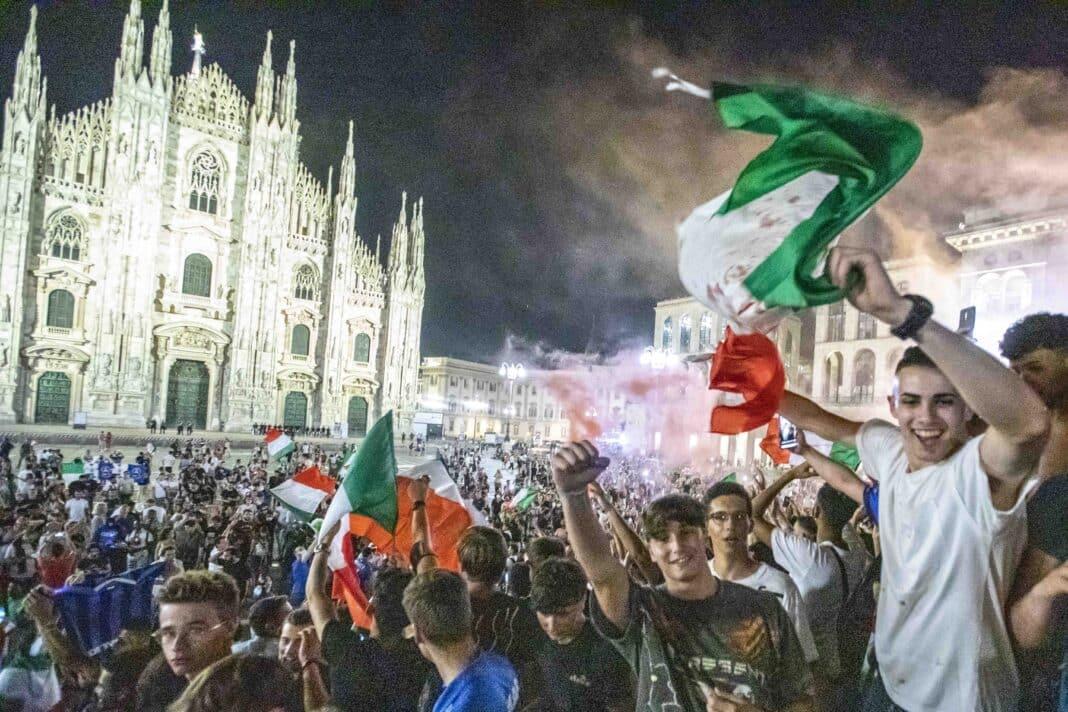 Bassetti, festeggiamenti Europei