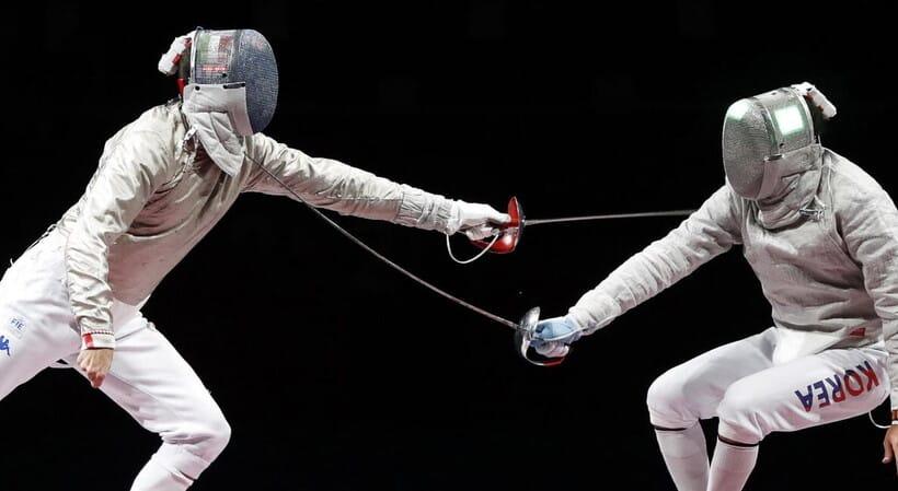 Olimpiadi Samele scherma