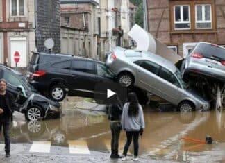 Alluvione Germania Belgio