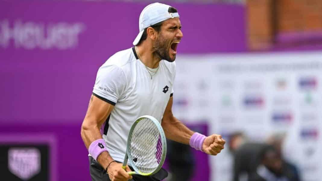 Berrettini, Wimbledon 2021