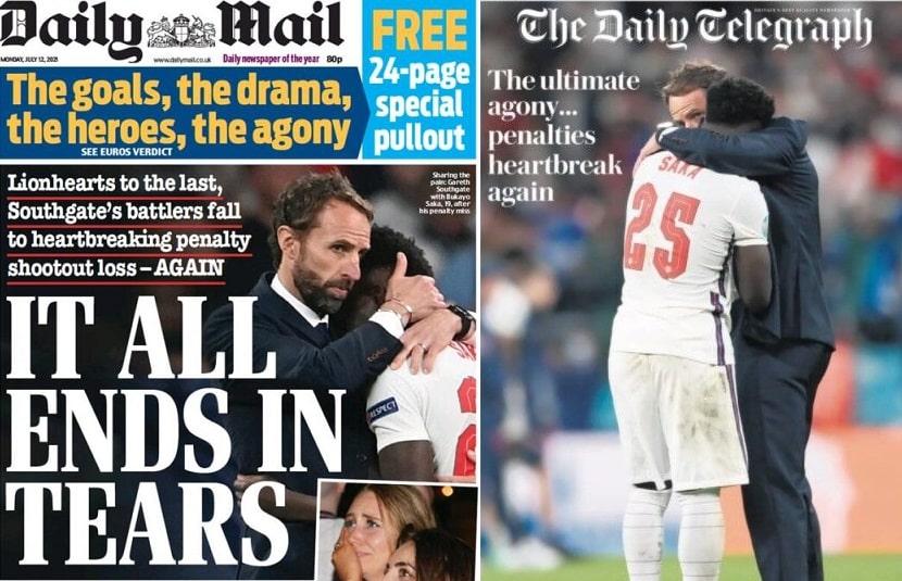 giornali inglesi