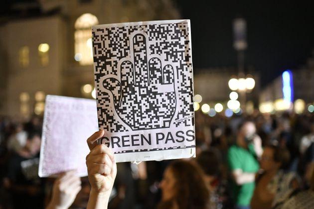 Green pass, manifestazioni