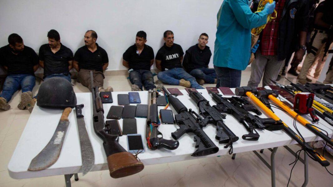 Haiti, giallo mercenari