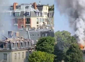 parigi ambasciata italiana, incendio?