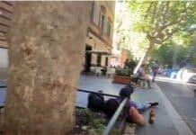 Roma, via Merulanda degrado