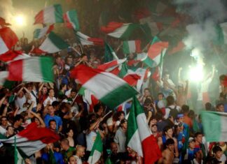 vittoria italia, tricolore